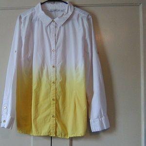 Women's long sleeve button shirt